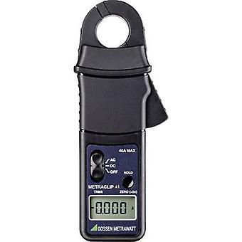 Gossen Metrawatt METRACLIP 41 Clamp meter, Handheld multimeter Digital CAT III 300 V Display (counts): 4000