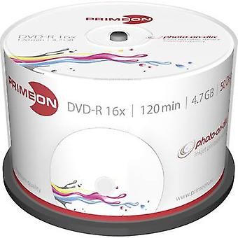 Primeon 2761206 Blank DVD-R 4.7 GB 50 pc(s) Spindle Printable