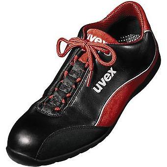 Uvex motorsport 9494945 Protective footwear S1 Size: 45 Black, Red 1 Pair