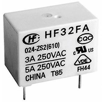 Hongfa HF32FA/005-HSL2 (610) PCB relay 5 V DC 5 A 1 Maker 1 PC (s)