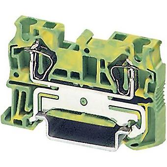 Phoenix Kontakt 3031380 ST 4-PE Zugfederschutzleiter Klemmen ST... -PE Grün, Gelb