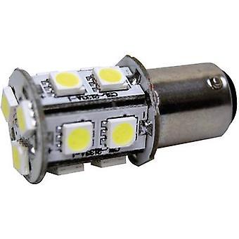 Eufab LED indicator light BA15D 12 V 360 lm