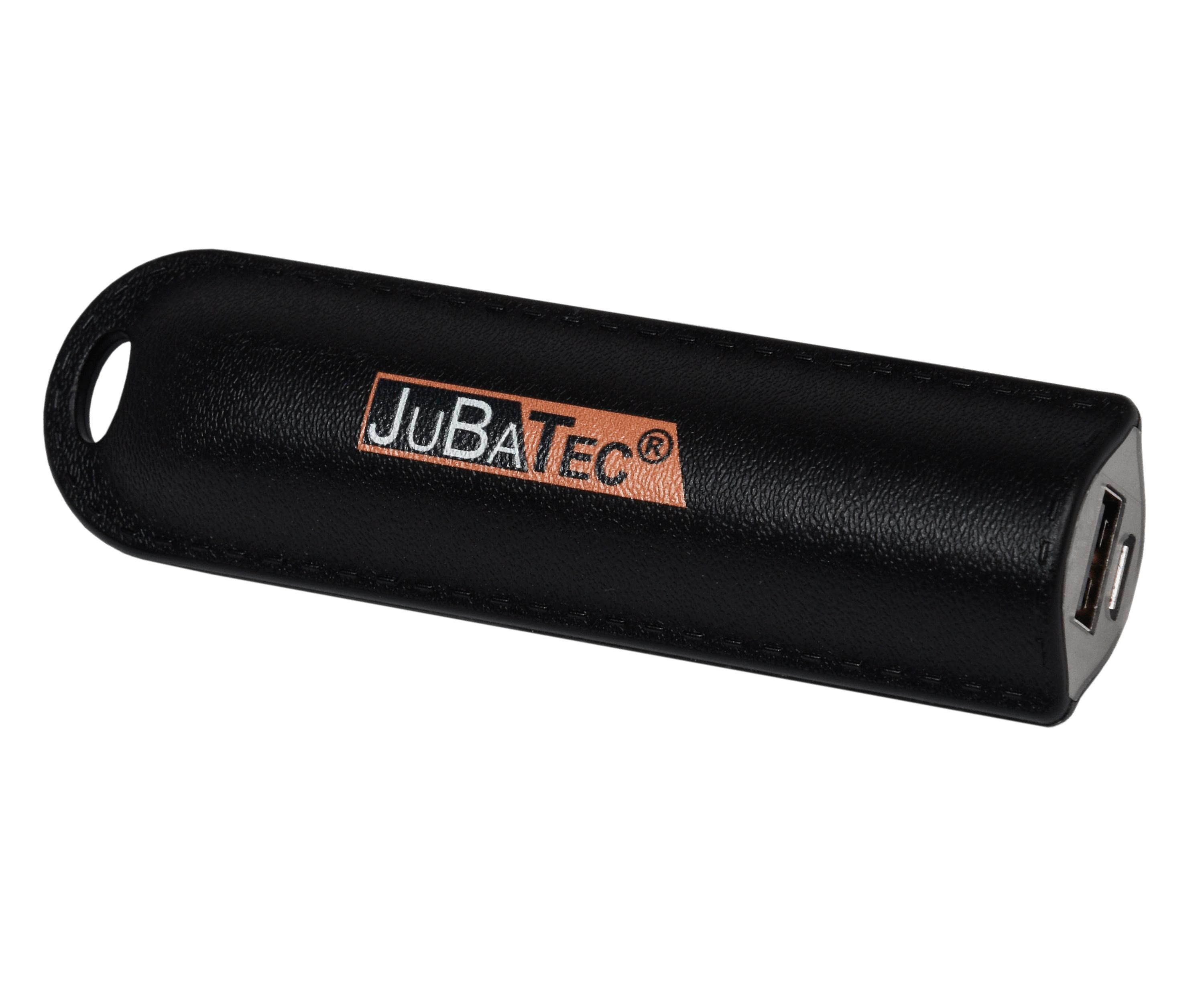 2,600 of mAh power Bank black * leather look