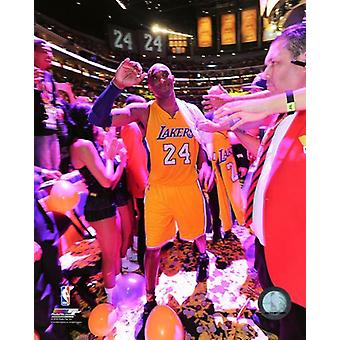 Kobe Bryant plays his final NBA game-Staples Center- April 13 2016 Photo Print (8 x 10)