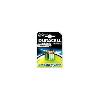 Duracell STAYCHARAAAP4 4 x AAA genopladelige batterier