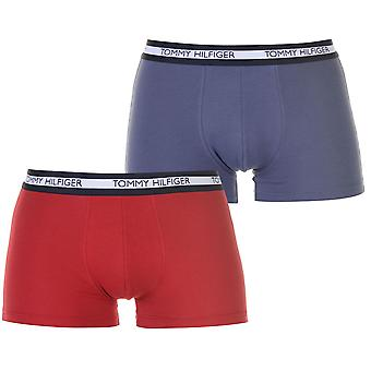 Tommy Hilfiger Mens 2 Pack Trunks Underwear
