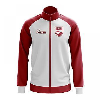 Grönlannin käsite jalkapallo Track Jacket (valkoinen)