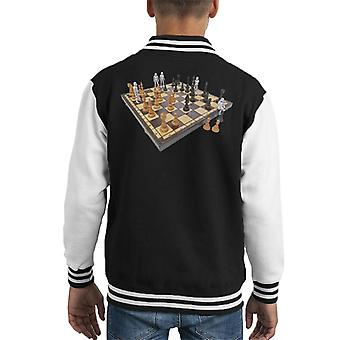 Original Stormtrooper Chess Board Kid Varsity Jacket