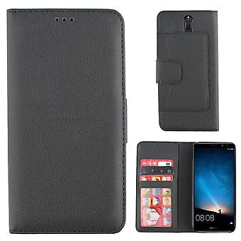 Colorfone Huawei Mate 10 PRO portefeuille Case (BLACK)
