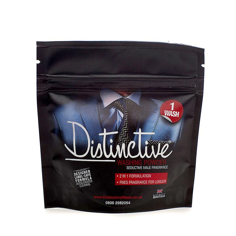 Travel Detergent-Mini-Sample Pack of Distinctive masculine fragranced washing powder