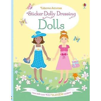 Autocollant Dolly s'habiller les poupées par Fiona Watt - livre 9781474935005