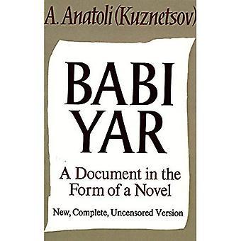 Babi Yar: Et dokument i Form af en roman