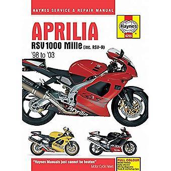 Manuel de réparation de Mille moto Aprilia RSV100