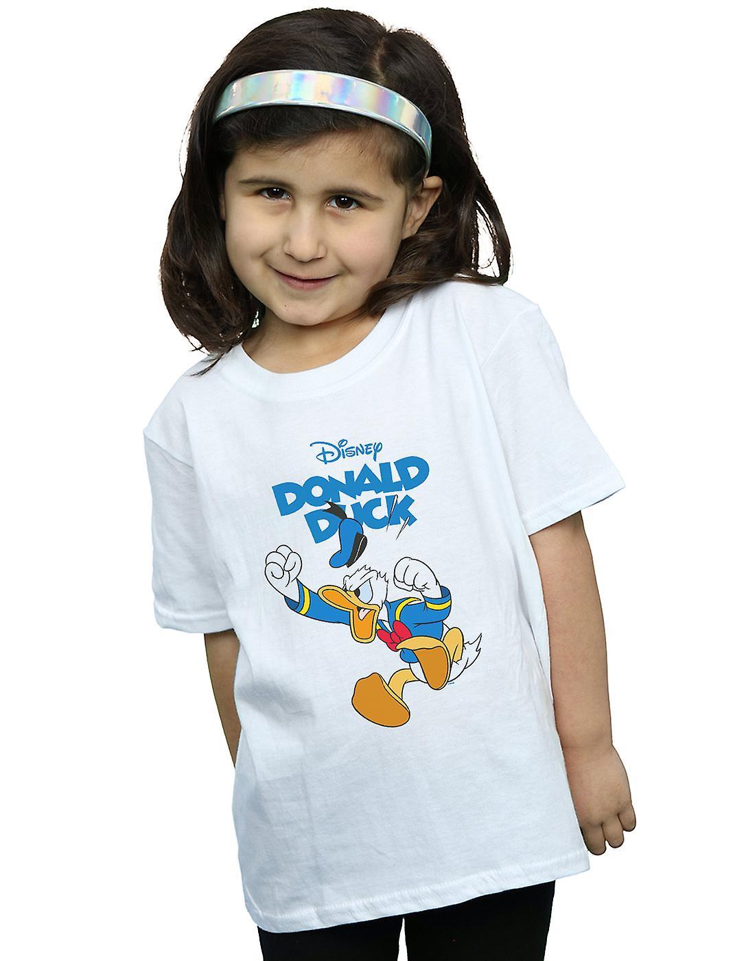 Disney Girls Donald Duck Furious Donald T-Shirt