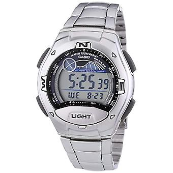 Casio digital watch with stainless steel band W-753D-1AVES