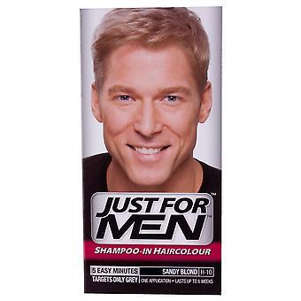 Bara för män schampo i håret färg - Sandy blond H10