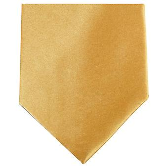 Knightsbridge Neckwear Regular Polyester Tie - Gold