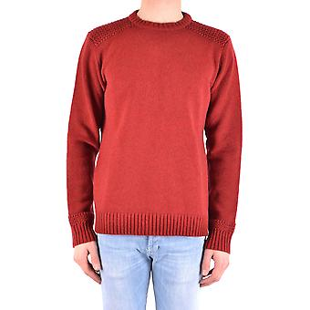 Jacob Cohen Ezbc054184 Männer's rote Wolle Pullover