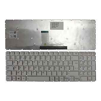 Toshiba Satellite L50T-B - 11G witte Windows 8 Franse Layout vervanging Laptop toetsenbord