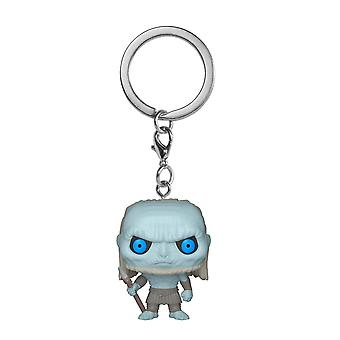 Funko POP Llavero - Juego de Tronos S10 White Walker Collectible Figura