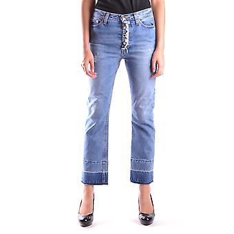 Semi-couture Ezbc156003 Women's Blue Denim Jeans