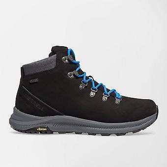 New Merrell Men's Ontario Mid Waterproof Walking Boots Black