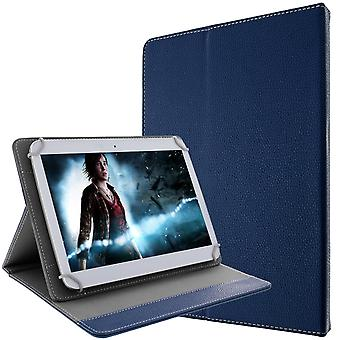 Tablet cover 10 inches Blue universal clips