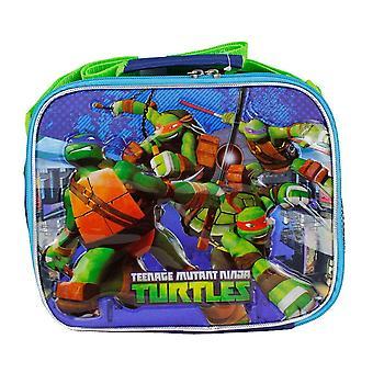 Lunch Bag - TMNT - Ninja Turles Blue Boys Case New 653446
