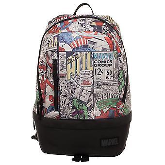 Backpack - Marvel - Bottom Zip Comic New Licensed bp6mp6mvl
