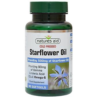 Nature's Aid Starflower Oil 500mg Softgels 90 (15320)