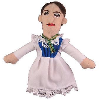 Finger Puppet - UPG - Dickinson Soft Doll Giocattoli Regali Licensed Nuovo 0544