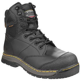 Dr Martens Mens Torrent St 8 Tie Boot Dallas Hydro Black