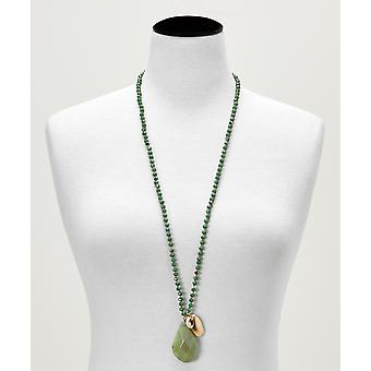 Joe Browns Womens Semi Precious Stone hängsmycke halsband