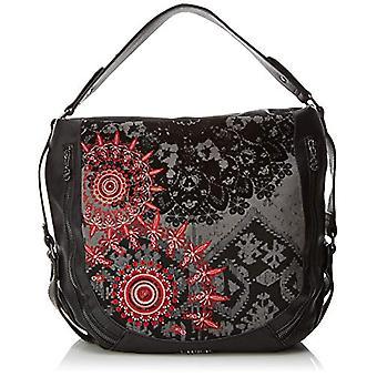 Desigual Bols-rouge Queen Marteta - Black Women's Shoulder Bags (Negro) 16x34x40 cm (B x H T)