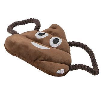 Animate Poo Emoji Plush Dog Toy