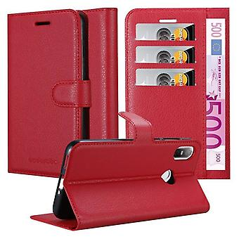 Cadorabo Case for HTC U12 LIFE Case Cover - Phone Case with Magnetic Closure, Stand Function and Card Case Compartment - Case Cover Case Case Case Case Book Folding Style