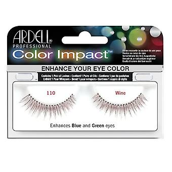 Ardell Color impact wimpers-wijn-110