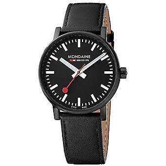 Mondaine Clock Man Ref. MSE.40121.LB