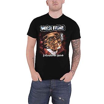 Warfare T Shirt A Conflict Of Hatred Band Logo new Official Mens Black