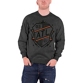 All Time Low Shield Logo Official Mens Nouveau Sweatshirt gris