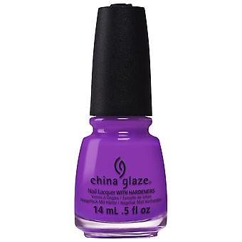 Kina Glaze elektriska nätter Nail Polish Collection 2015-violett-Vibes 14mL (82600)