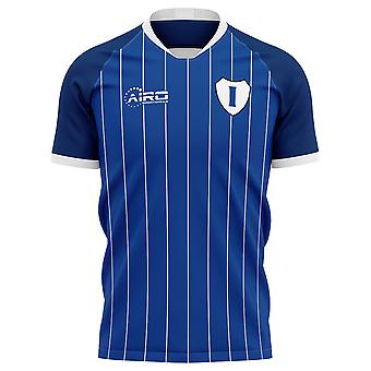 2020-2021 Ipswich Home Concept Fotbal Shirt - Adult cu mânecă lungă