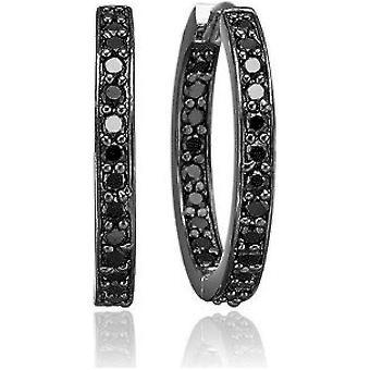 Sif Jakobs Earrings Corte Silver Collection SJ-E1540-BK