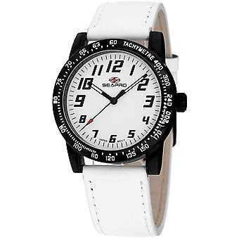 Seapro Women's Bold White Dial Watch - SP5213