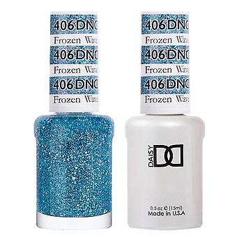 DND Duo Gel & Nail Polish Set - Frozen Wave 406 - 2x15ml