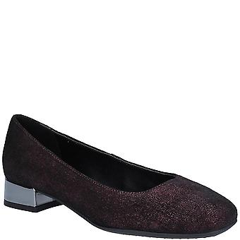 The Flexx Womens Longly Burma Leather Slip On Shoe