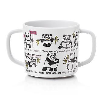 Tyrrell Katz Pandas Design Melamine Training Cup