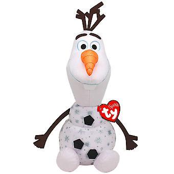 TY Disney Frozen 2 Olaf Large Beanie With Sound