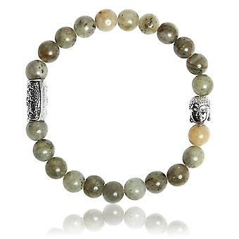 Lauren Steven Design ML035 Bracelet - Natural Stone Labradorite Men's Bracelet