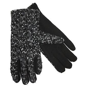 Ladies Warm Adele Thermal Thinsulate Lined Stylish Boucle Pattern Winter Gloves